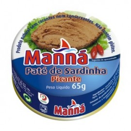 Pate Manna Hot Sardine In Tin 65g