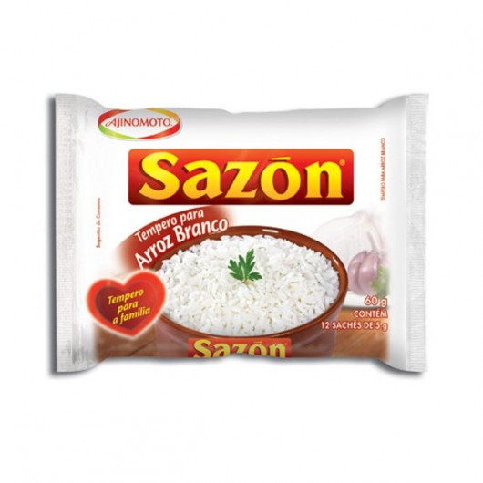 Sazon Tempero P/Arroz (Branco) 60Gr X 1