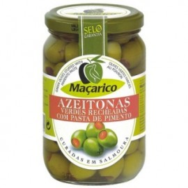 Maçarico Green Olive Stuffed With Pepper Jar 200g