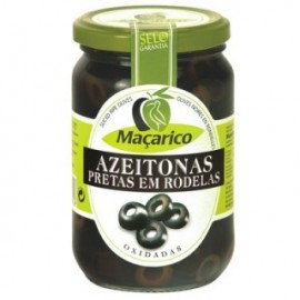 Maçarico Sliced Black Olives 165g